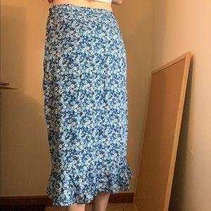 Christopher & Banks Skirts - Floral skirt